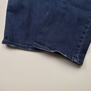 NYDJ Jeans - NYDJ Sheri Slim Straight Dark Wash Jeans 14